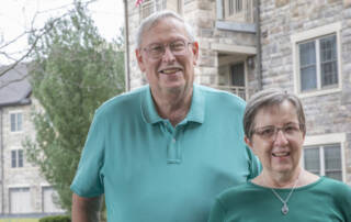 David and Janice Rohrbach after moving