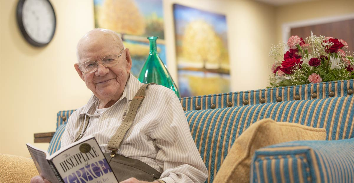 resident in long term care