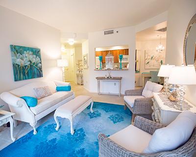 Apartment living room interior