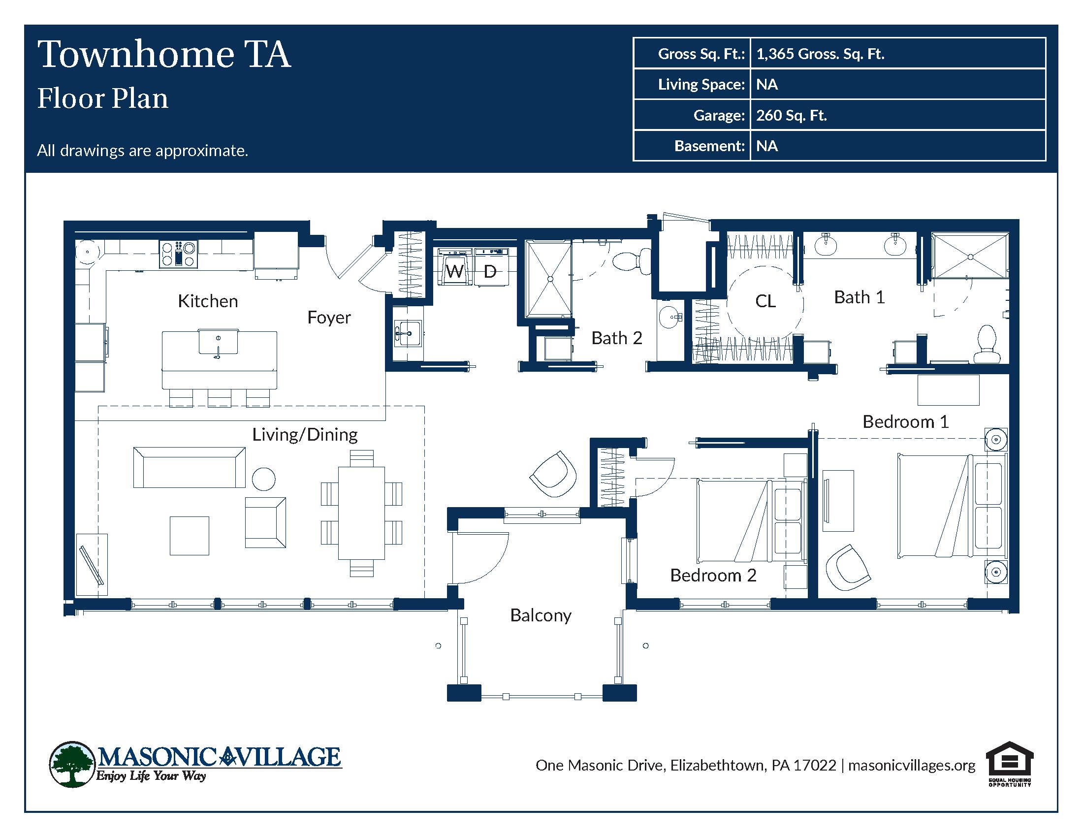 Masonic Village at Elizabethtown Apartment CD