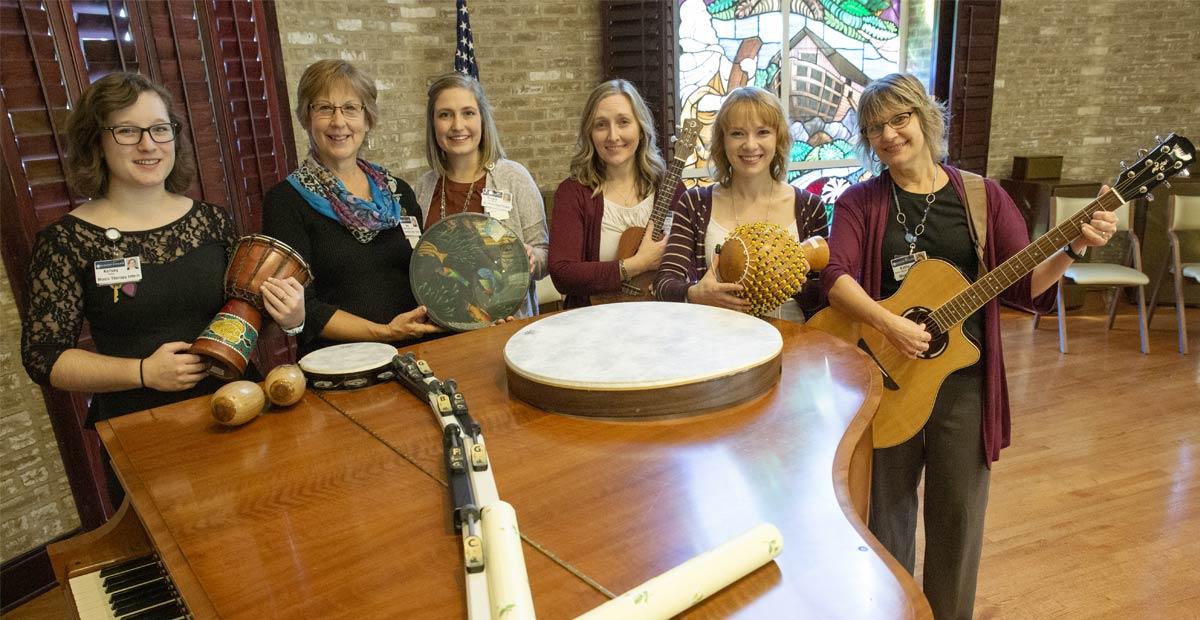 Music therapy at Masonic Village